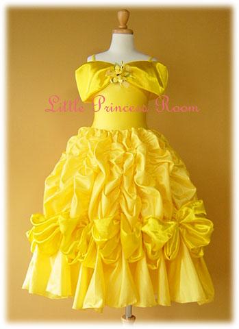 子供用プリンセスドレス<美女と野獣>