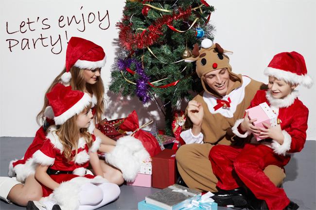 クリスマスシーズンを盛り上げる衣装や小物はコチラ♪