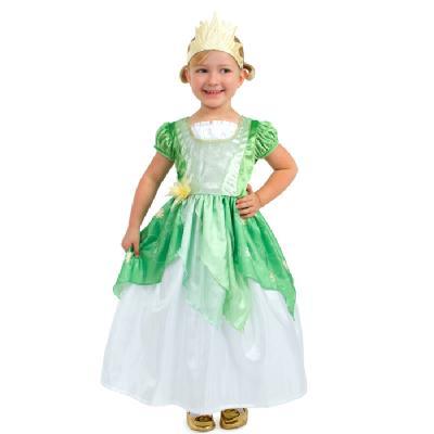 0f60ac44321ae 童話のお姫様みたい☆可憐な蓮の花をイメージしたグリーンのプリンセスドレス プレゼント テーマパーク ハロウィン パーティー