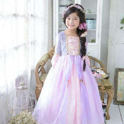 6bbbe1957a77c クラシックラプンツェル>∥子供用プリンセスドレス・ディズニー ...